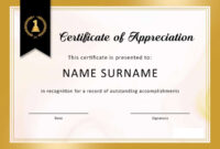 ❤️free Sample Certificate Of Recognition Template❤️ with Sample Certificate Of Recognition Template