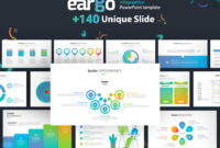 Eargo Infographics Powerpoint Template With 140 Unique Slides pertaining to What Is Template In Powerpoint