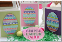 Easter Card Craft Ideas Ks2 Inside Easter Card Template Ks2