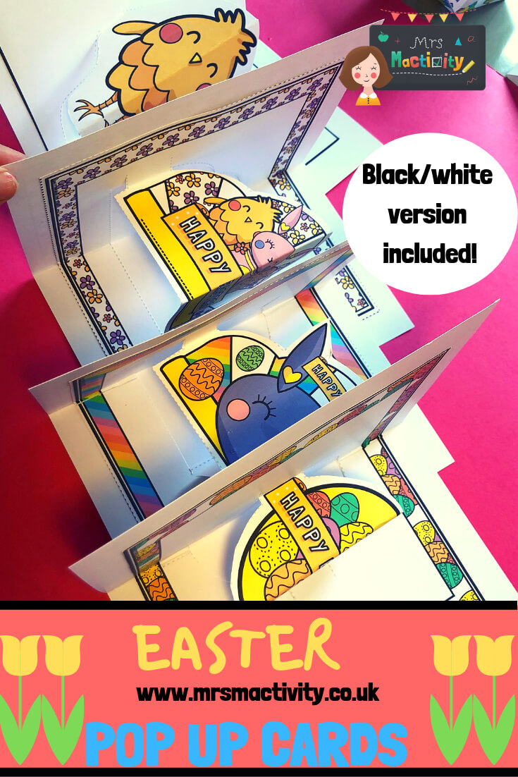 Easter Pop Up Cards In 2019 | Easter Resources | Pop Up With Regard To Easter Card Template Ks2