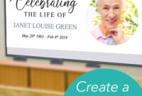Easy To Edit Powerpoint Template To Share Your Loved One's for Funeral Powerpoint Templates