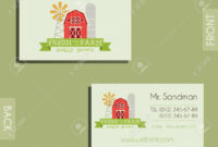 Eco, Organic Visiting Card Template. For Natural Shop, Farm Products.. in Bio Card Template
