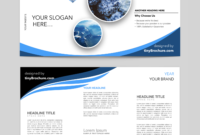 Editable Brochure Template Word Free Download | Word within Word Catalogue Template
