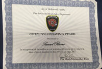 Editable Hollywood Award Certificate Template Choice Image within Life Saving Award Certificate Template