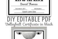 Editable Pdf Sports Team Softball Certificate Diy Award for Softball Certificate Templates Free
