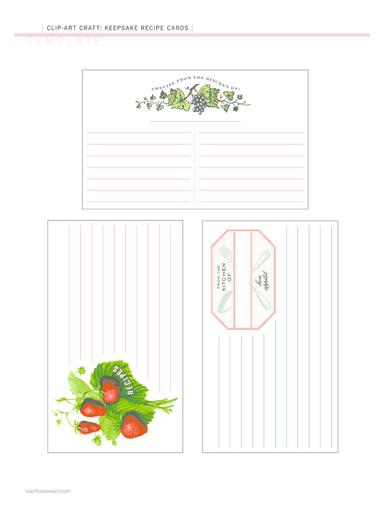 Editable Recipe Template Pdf – Fill Online, Printable Intended For Fillable Recipe Card Template