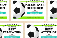 Editable Soccer Award Certificates – Instant Download throughout Soccer Award Certificate Templates Free