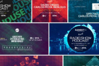 Electronic Music Event Facebook Post Banner Templates Psd within Event Banner Template