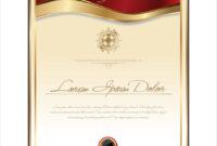 Elegant Certificate Template with Elegant Certificate Templates Free