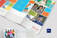 Elegant College Tri Fold Brochure Template | College throughout Tri Fold School Brochure Template