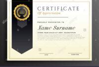 Elegant Diploma Award Certificate Template Design Stock with regard to Academic Award Certificate Template