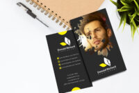 Elegant Freelancer Business Card Template in Freelance Business Card Template
