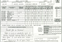 Elementary School Report Card Template | Report Card in Homeschool Middle School Report Card Template