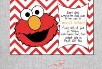Elmo Birthday Card Printable | Elmo Birthday, Birthday regarding Elmo Birthday Card Template