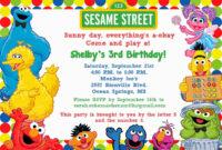 Elmo Birthday Invitation Template – Cards Design Templates within Elmo Birthday Card Template