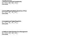 Employee Evaluation Forms [+Free Performance Review Templates] with Blank Evaluation Form Template