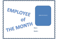 Employee Of The Month Certificate Template | Templates At Intended For Employee Of The Month Certificate Template With Picture