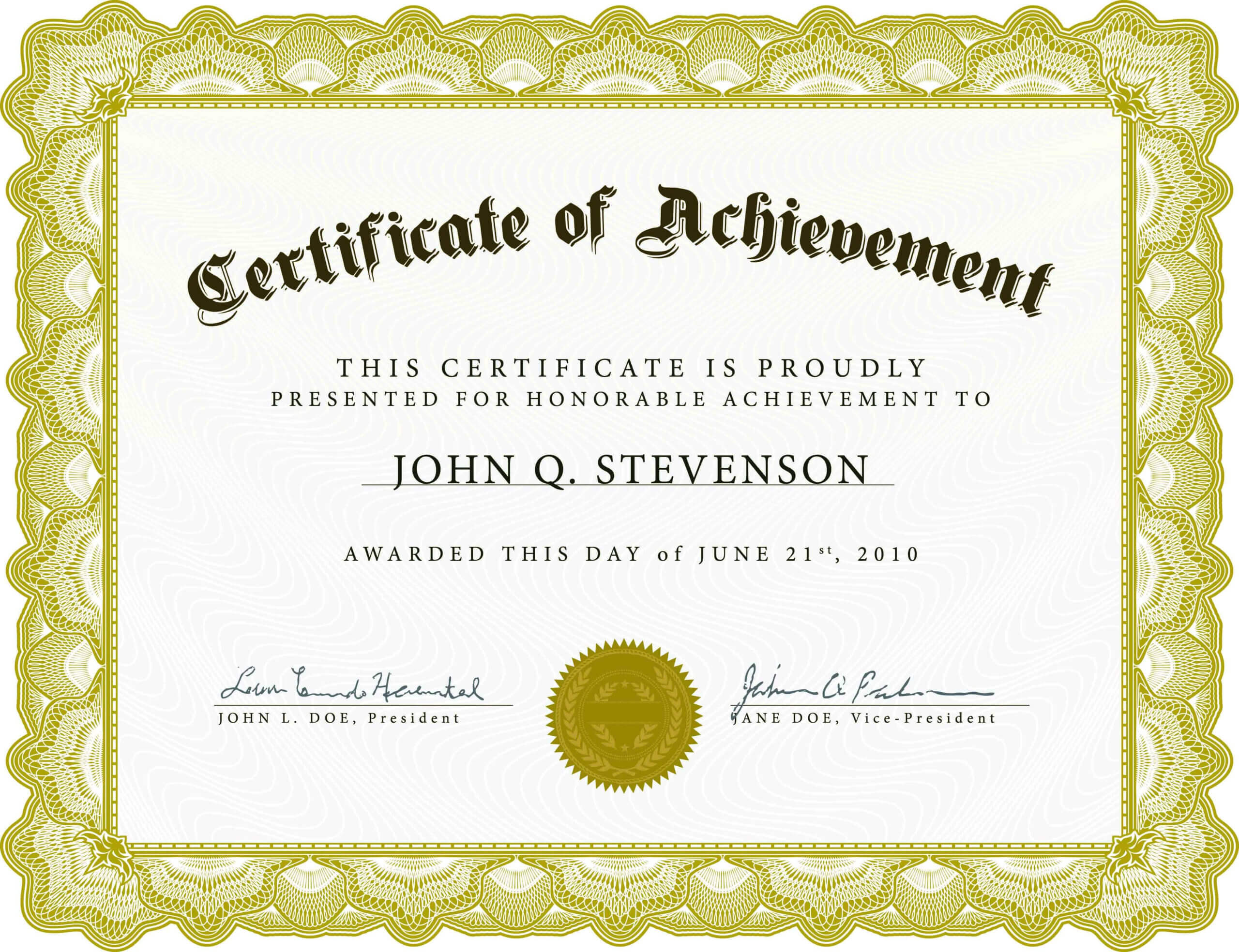 Employee Of The Month Certificate Template Unique Sample Pertaining To Employee Anniversary Certificate Template