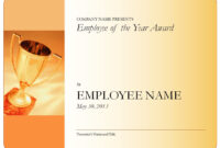 Employee-Of-The-Year-Certificate-Blank with regard to Employee Of The Year Certificate Template Free