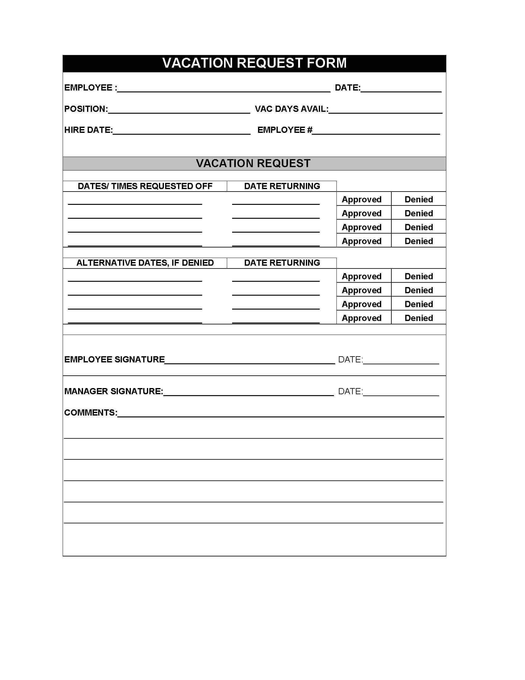 Employee Travel Request Form Template Sharepoint Templates Pertaining To Travel Request Form Template Word