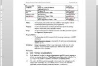 Equal Employment Opportunity Procedure Eeo | Cmp108 inside Eeo 1 Report Template
