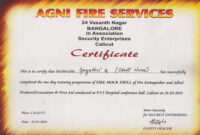 Evacuation Label Template Lovely Fire Drill Checklist pertaining to Fire Extinguisher Certificate Template