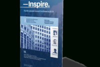 Event Roll-Up Banner Templates On Behance | Banner Design for Retractable Banner Design Templates