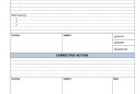 Example Of Non Conformance Report – Forza.mbiconsultingltd inside Non Conformance Report Form Template
