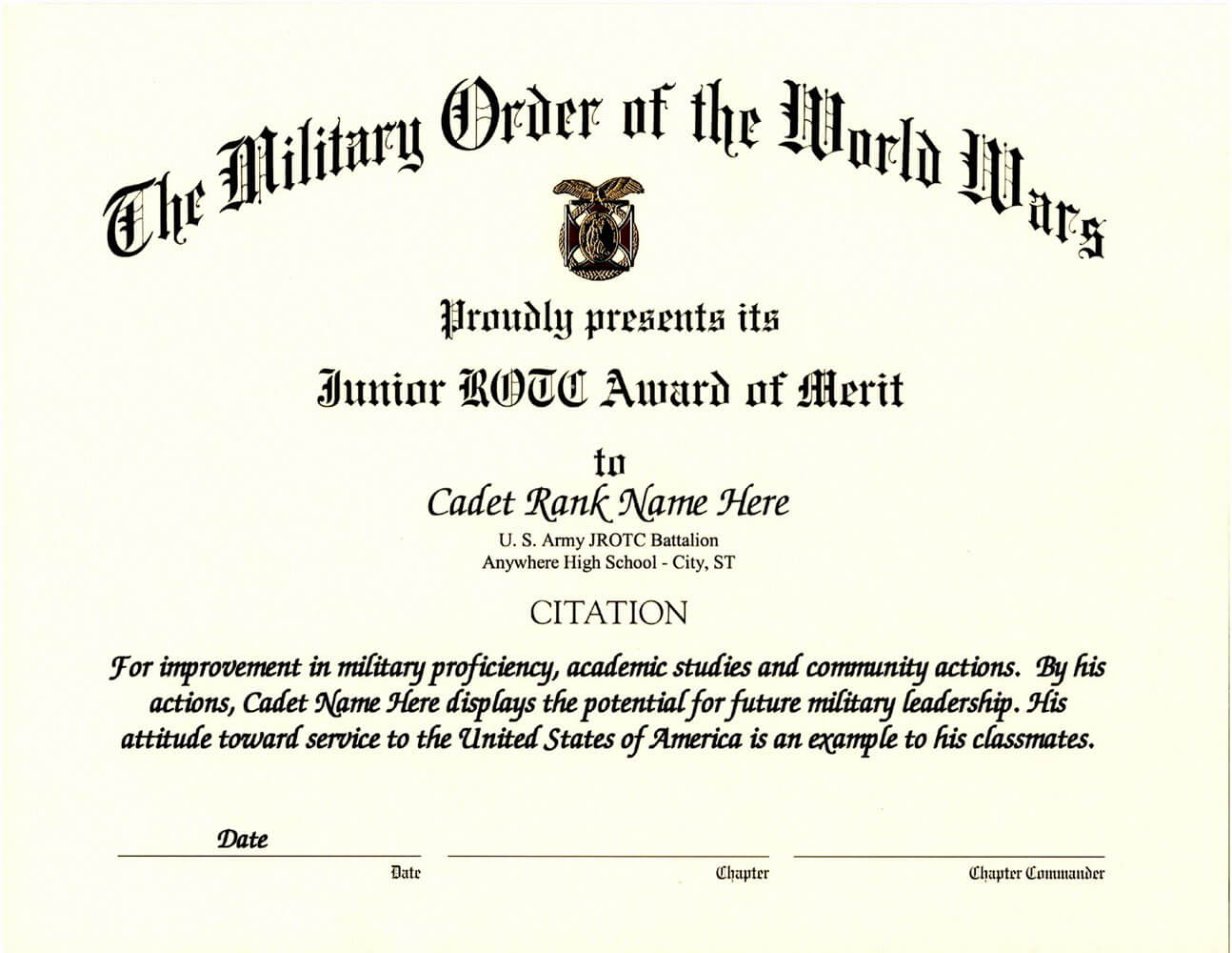 Examples Of Certificates – Zimer.bwong.co Intended For Leadership Award Certificate Template