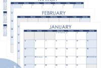 Excel Calendar Template For 2020 And Beyond throughout Personal Word Wall Template