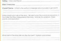 Excellent Book Review Lesson Plan 5Th Grade Related Post regarding Story Report Template