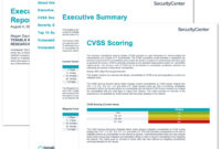 Executive Age Summary Report – Sc Report Template | Tenable® in Executive Summary Report Template