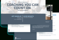 Executive Coaching Proposal Template – Free Sample | Proposify pertaining to Coaches Report Template