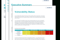 Executive Vpr Summary Report – Sc Report Template | Tenable® Inside Trial Report Template