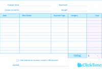 Expense Report Template | Track Expenses Easily In Excel in Monthly Expense Report Template Excel