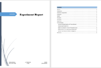 Experiment Report Template – Microsoft Word Templates throughout Annual Financial Report Template Word