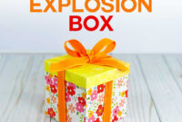 Explosion Box Card Tutorial: Endless Box – Free Svg File intended for Free Svg Card Templates
