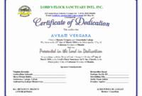 F096280 30 Baby Dedication Certificate Templates inside Baby Dedication Certificate Template