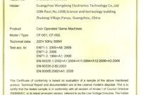 🥰 Blank Printable Certificate Of Conformity [Coc] Form inside Certificate Of Conformity Template