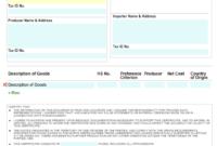 🥰free Printable Certificate Of Origin Form Template [Pdf inside Certificate Of Origin For A Vehicle Template