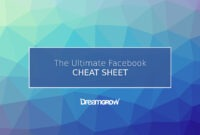 Facebook Cheat Sheet: All Image Sizes, Dimensions, And for Facebook Banner Size Template