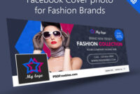 Facebook Cover Photo For Fashion Brands Free Psd in Facebook Banner Template Psd