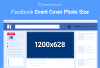 Facebook Event Photo Size (2019) + Free Templates & Guides for Photoshop Facebook Banner Template
