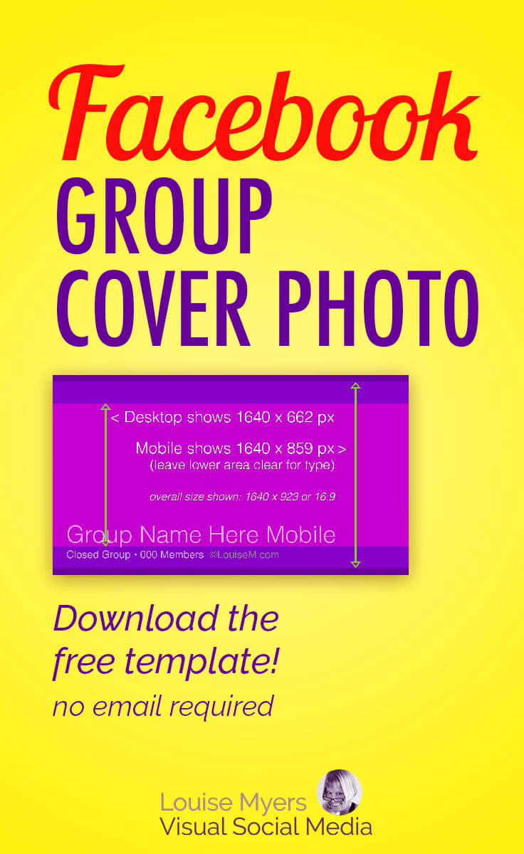 Facebook Group Cover Photo Size 2019: Free Template Regarding Facebook Banner Size Template