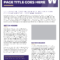 Fact Sheet | Uw Brand in Fact Sheet Template Word