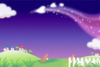 Fairy Tale Mood Powerpoint Backgrounds_Best Powerpoint inside Fairy Tale Powerpoint Template