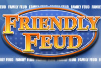 Family Feud Customizable Powerpoint Template – Youth regarding Quiz Show Template Powerpoint