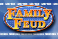 Family Feud Powerpoint Template 1 | Family Feud, Family Feud inside Family Feud Powerpoint Template With Sound