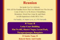 Family-Reunion-Invitation-Card-With-Photo Invitation intended for Reunion Invitation Card Templates