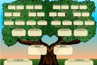 Family Tree Powerpoint Template Is A Free Template With pertaining to Powerpoint Genealogy Template